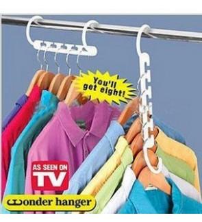 New Design Clothe Hanger ~ Triples Closet Space