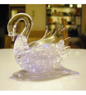 3D Crystal Puzzles ~ White Swan